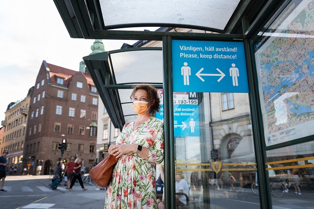 Coughs and racial slurs: Sweden's foreign residents reveal abuse for wearing face masks