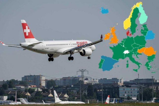 UPDATED: Where can you travel to from Switzerland – and when?