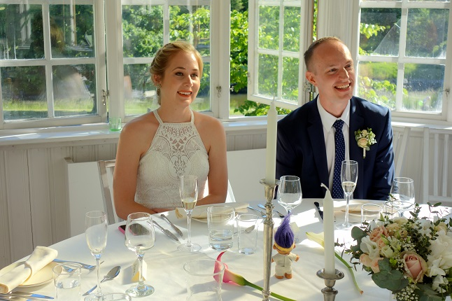 'I'd never have planned it this way, but I'm grateful': My coronavirus wedding day