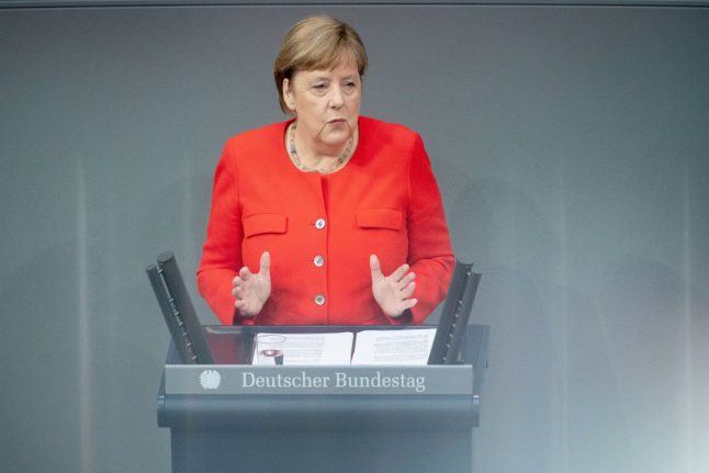 'Our Europe is vulnerable': Merkel urges EU recovery deal before end of July