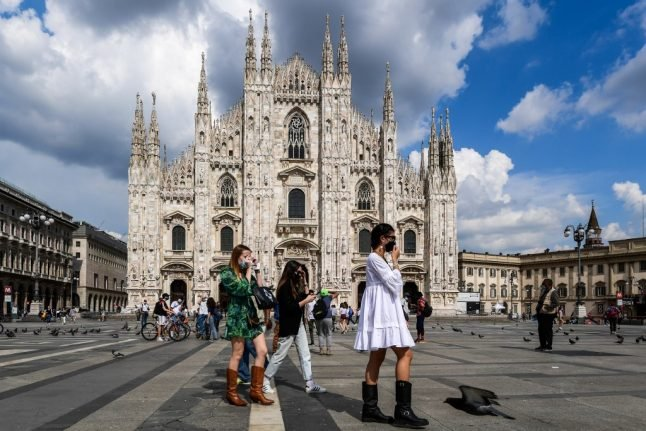 MAPS: Which are the safest parts of Italy to visit in terms of Covid-19 infections?