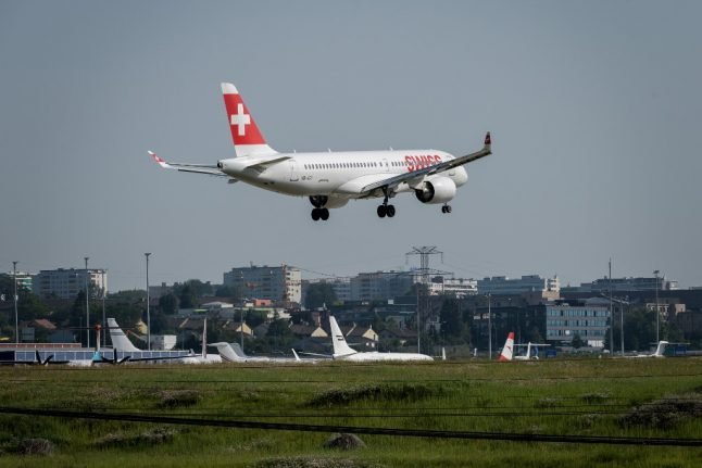 What's the latest on air travel in Switzerland?