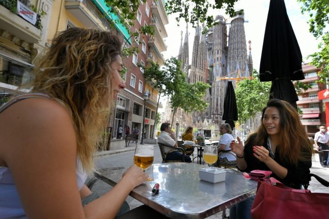 Are corona service charges at Spain's bars and restaurants legal?