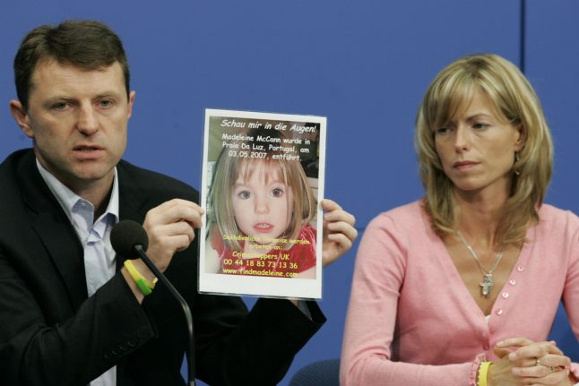 Germany investigates possible 'Maddie' suspect link to second missing girl