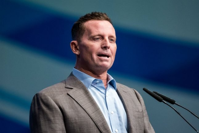 Trump ally Grenell officially steps down as US ambassador to Germany