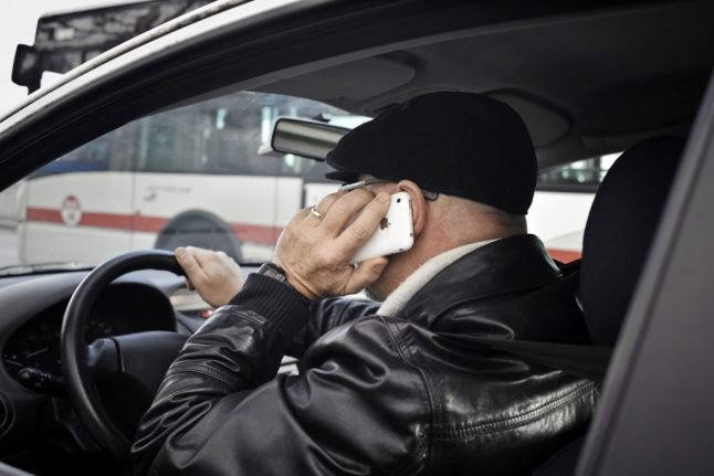 Using a phone while driving in France could now cost you your licence