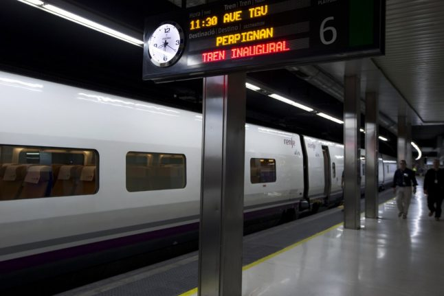High-speed train services restart between France and Spain