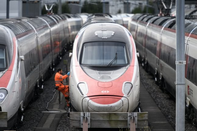 What you need to know about the restart of train services in Switzerland