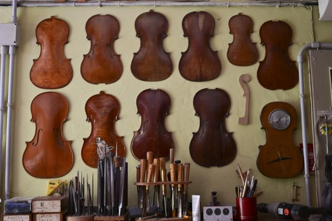 IN PHOTOS: Inside the workshops of Cremona, Italy's 'cradle of violin-making'