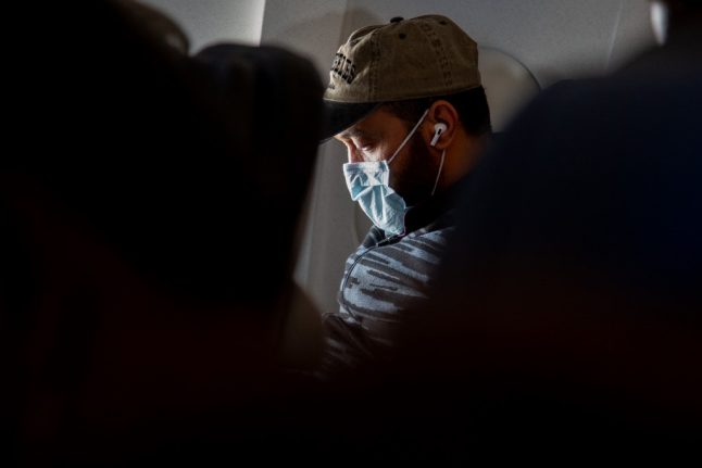 SWISS airline makes masks compulsory on board planes