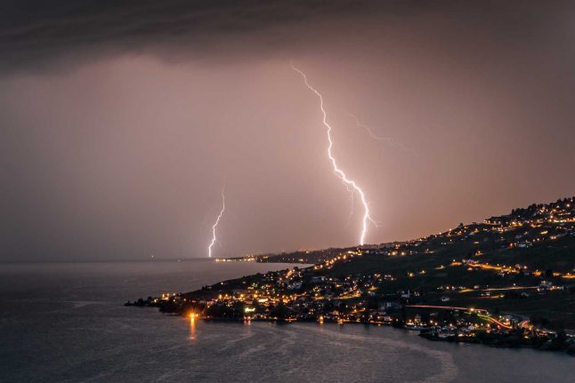 Violent thunderstorms predicted for Zurich and Aargau