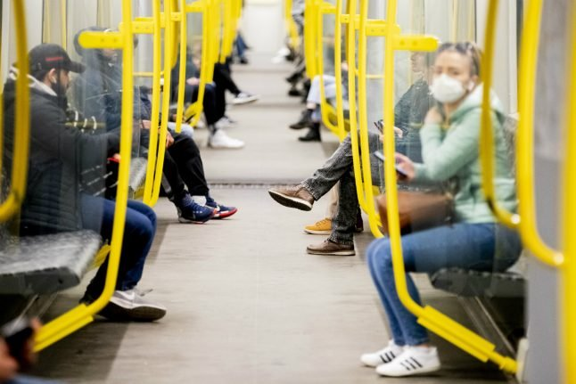 'Get rid of deodorant': How Berlin's BVG wants to encourage face masks