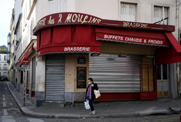 France's economy contracted by record 13.8 percent during lockown