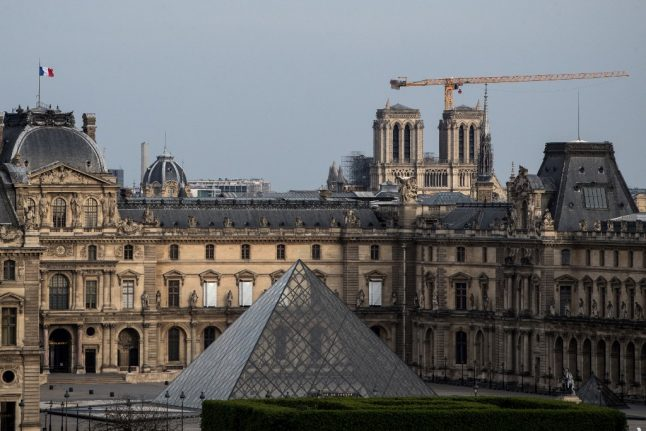 Paris: Louvre museum reopens with strict health rules for visitors