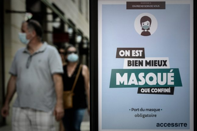 France introduces steep fine for people who don't comply with new face mask law