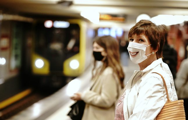 30,000 people spotted without mask on Berlin public transport in three weeks