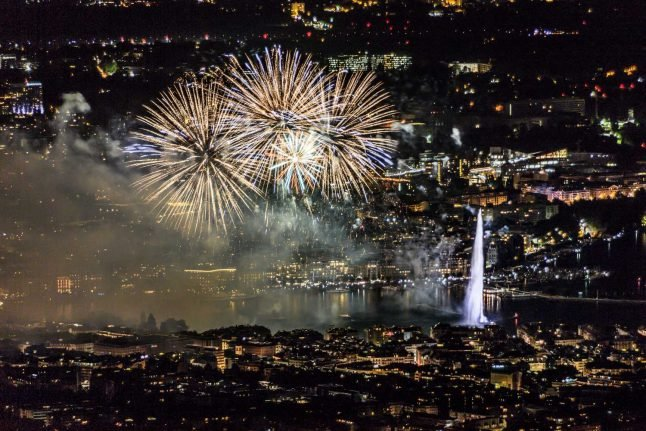 Smaller crowds, more fireworks: How Swiss National Day will be celebrated in corona times