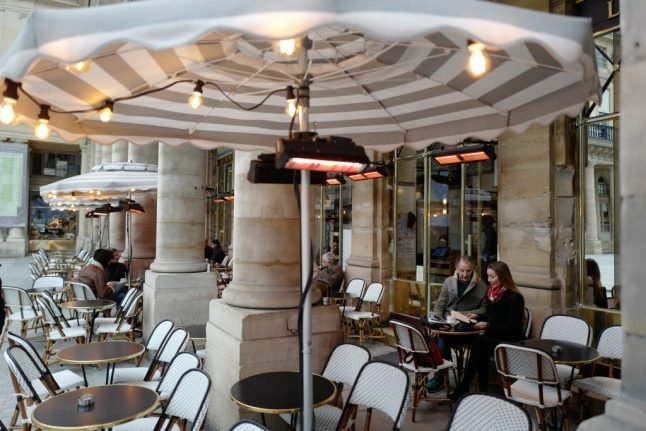 France to outlaw heaters on café terraces in new package of green measures