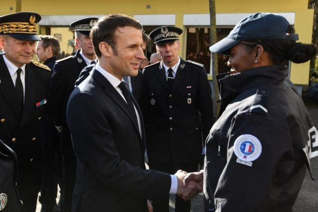 Macron promises extra night work allowance for French police