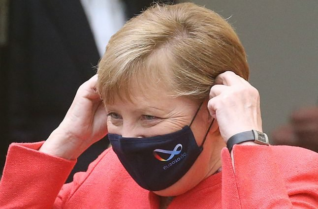 Why a row has broken out in Germany over face masks