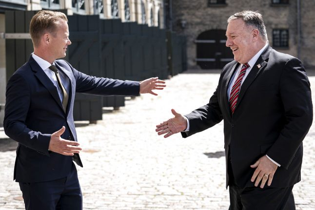 How Pompeo's visit signalled 'radical' change in Denmark's position on China