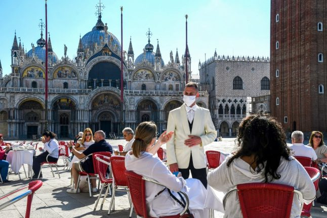 Have your say: Do you think people should avoid travel to Italy this summer?