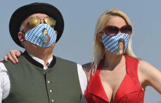 Coronavirus: Who is (and isn't) wearing a face mask in Germany?