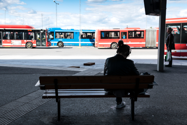 Ticket inspections resume on Stockholm buses and trams