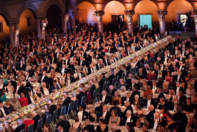 Sweden's Nobel banquet cancelled for first time in decades