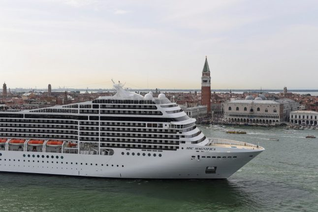 Italy's biggest cruise companies won't be stopping in Venice this summer