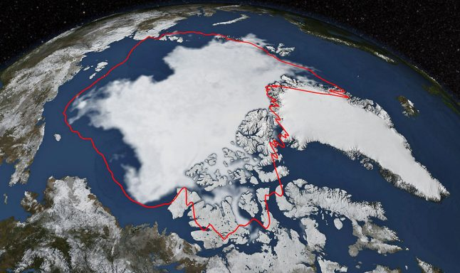 Arctic sea ice melting faster than forecast, Copenhagen researchers find