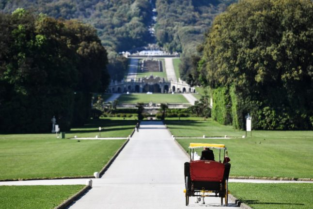 Italy's Royal Palace of Caserta bans carriages after horse's death