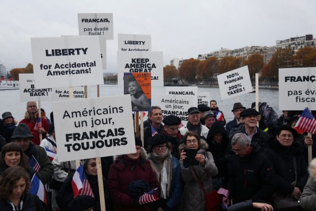 Fundraiser begins in France to help Americans to renounce US citizenship