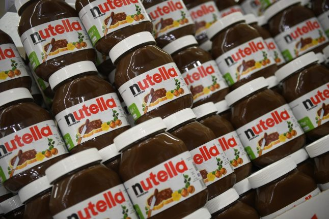 REVEALED: This is how popular Nutella is in France