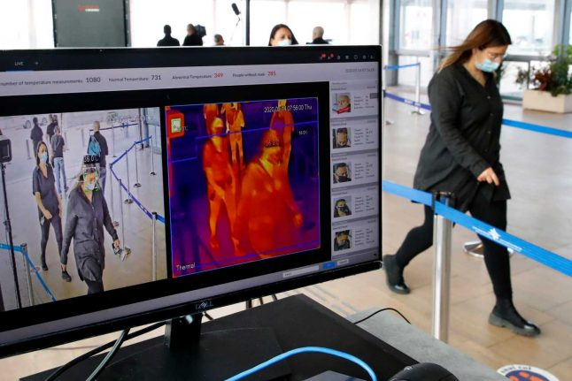 How Swiss businesses are using temperature scanners to cut coronavirus risks