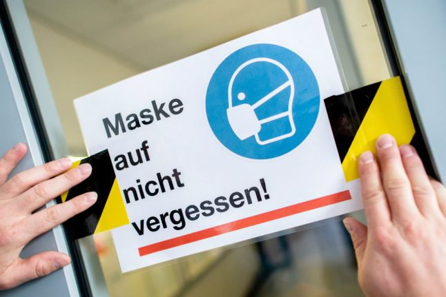 Germany agrees nationwide €50 fines for flouting face mask rules
