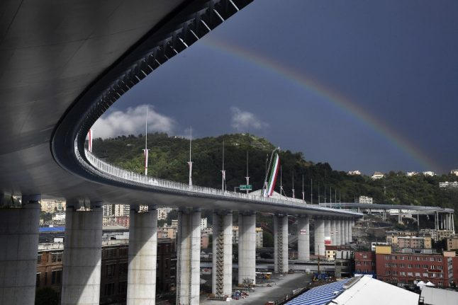 'Born of tragedy': Italy inaugurates new bridge to replace Genoa's collapsed highway