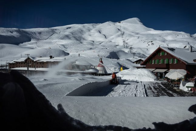 Snow forecast for the Swiss mountains as early winter chill hit Switzerland this weekend