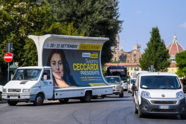 Why the rest of Italy is watching Tuscany's regional elections closely