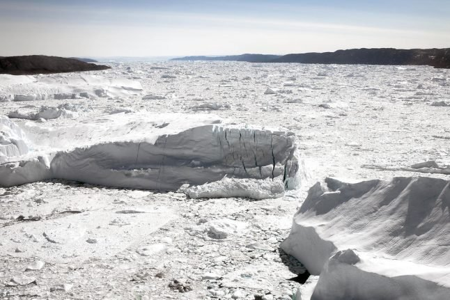Glacial 1991 day in Greenland belatedly sets Arctic cold record