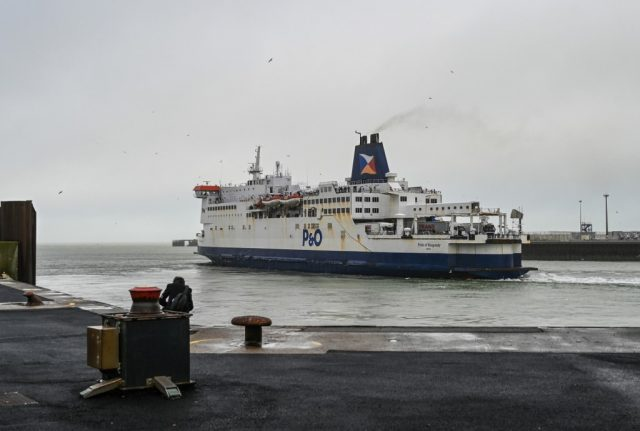 Cross-Channel ferry trips suspended because of French strike action over Brexit