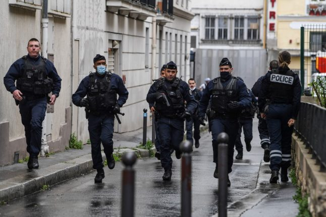 Two injured in knife attack in Paris close to former Charlie Hebdo offices