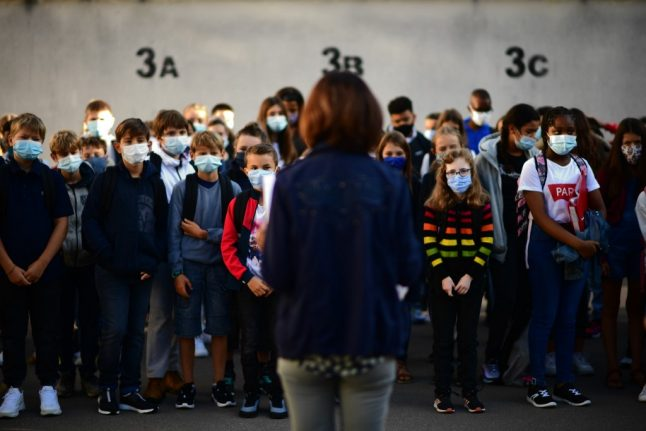 Covid-19: What you need to know about France's new health rules in schools