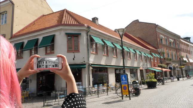 In Pictures: Walk through the history of Malmö with new app