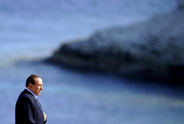 Italy's former PM Silvio Berlusconi hospitalised with Covid-19