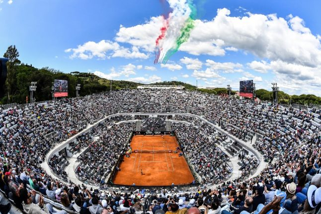 Anger as Italian tennis championship told to go ahead without spectators