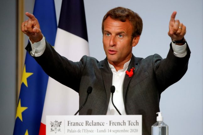 Macron defends 5G technology roll-out in France