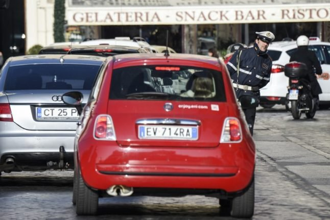 Why Italy's new security decree could be a headache for foreign drivers