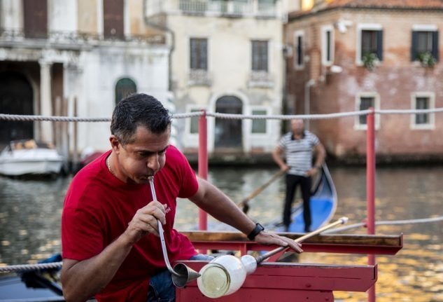 IN PHOTOS: Italian glassmakers warn against counterfeits as they mark Venice Glass Week