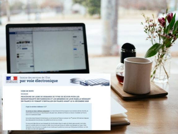Carte de séjour: This is how the residency card website works for Brits in France